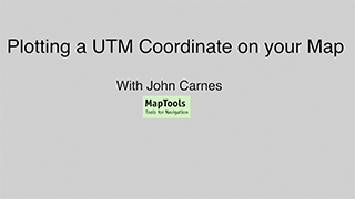 Plotting UTM with a UTM Grid Tool